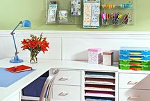 Craft organization / #ideas #craftroom #craft #room #scraproom #organization #storage #scrapbooking #jewelry