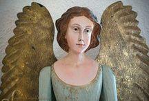 Anges et statues