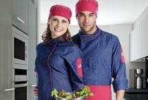 Mandiles y Gorros / Venta de mandiles y gorros para uniformes de Hoteles y Restaurantes. Creaciones Red
