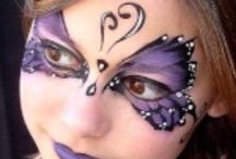 Face painting / #kids #woman #women #children #art #makeup #carnival #carnevale #halloween #party