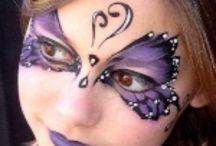 Face painting / #kids #woman #women #children #art #makeup #carnival #carnevale #halloween #party