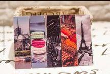 Bookmark / Zakładki do książek / Bookmark, zakładki do książek, Miejsca, Zwierzęta, Paryż, Istambuł