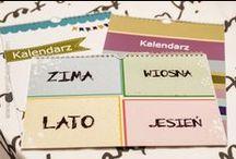 FOTO Kalendarze / Calendars / Kalendarze, Calendars, wzory kalendarzy do zaprojektowania ze zdjęciami klientów