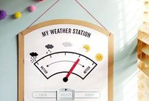 Homeschooling with Weather Crafts!