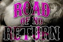 Road of No Return (Sex & Mayhem #1) by K.A. Merikan / Board of inspiration for Road of No Return, a gay outlaw biker dark romance :) http://kamerikan.com/road-of-no-return by K.A. Merikan / by Kat Merikan