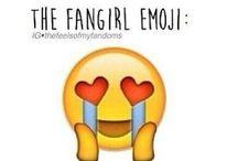 Fandom and fangirling / Fangirling