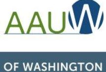 AAUW Washington State Branches / AAUW Washington State has many branches. Here are the links to each of their websites.