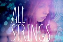 All Strings Attached by Miss Merikan / Inspiration board for 'All Strings Attached', an m/f erotic romance novel by Miss Merikan / by Kat Merikan