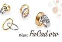 Βέρες γάμου FaCadoro / Βέρες γάμου & αρραβώνων Facadoro   ΤΣΑΛΔΑΡΗΣ Κόσμημα - Ρολόι