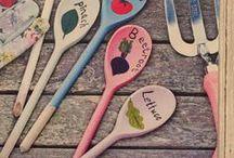 GARDEN IDEAS / Things you can make, do or grow in the garden!