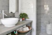 BATHROOM IDEAS / Bathroom accessories, colours, decor, themes and inspiration!