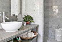 BATHROOM IDEAS / Bathroom accessories, colours, decor, themes and inspiration!