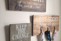 LAUNDRY ROOM IDEAS / Decor Ideas and Inspiration for the laundry room!