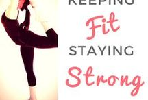 Keeping Fit, Staying Strong / We all need exercise but not all of us like it. I'm one of those people that prefer a cup of tea and a nice book. BUT I know I need to keep fit and stay strong so that I remain healthy & well. This board is for quick and VERY simple routines thats not too much of a stretch.