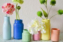 Mason Jars  / I love mason jars!  / by Pink About it
