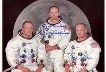 Space Memorabilia / Space memorabilia and collectibles featuring astronauts and cosmonauts from Gemini, Mercury, Apollo, Soyuz and more.