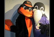 Orange and Purple / We love our Orioles and our Ravens!