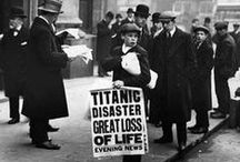 RMS Titanic / Titanic memorabilia and collectibles gathered from the doomed  Titanic.