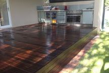 Westech Timber Decking / Timber and recycled timber decking done by Westech flooring.
