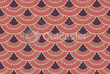 Asian Patterns and Textiles