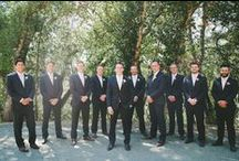 The Groom & his Groomsmen / The grooms on their special day and lets not forget their accessories!