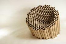 Reciclaje materiales - MW Materials World / Cómo se reciclan los materiales para crear otros objetos de utilidad. Upcycling. Materiales ecológicos.