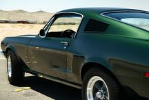 Dream Cars / 1968 Ford Mustang