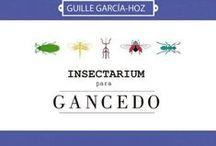 """Insectarium en Gancedo / Una maravillosa colección de papeles pintados """"Insectarium"""", que el interiorista Guille García-Hoz ha realizado para la firma de decoración textil Gancedo."""