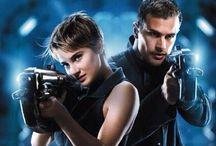 {Divergent} / Divergent is my favorite movie  divergent, insurgent, allegiant / by Allison Hagan ✔️
