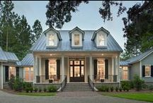Exteriors / A collection of exterior architecture exemplifying our wide range of possibilities while still maintaining a southern style.
