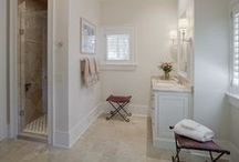 Bathrooms / A collection of bathrooms designed by Pearce Scott Architects