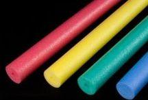 Espuma polietileno - Stratocell - MW Materials World / Planchas, productos manufacturados, churros de piscina y mucho más hechos con espuma de polietileno o stratocell. #espumapolietileno #stratocell #polyethylenefoam