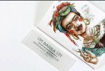"""Frida Kahlo in portuguese tradicional clothes notebook from 1/1 / Another one of my illustrations, this time a Frida Kahlo version, dressed in tradicional fisherwoman portuguese clothes. Imprinted in the fabulous notebooks of the design brand """"1/1"""""""