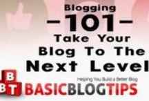 BLOGGING 101 / Blogging 101