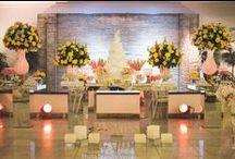 Mesa de Bolo / #casamento #mesa #bolo #florefesta #love