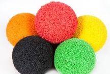 Caucho natural / Productos de caucho natural. Natural rubber products.