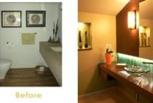 Before & Afters / Creative Interior Design with Feng Shui & Design Psychology = Total Transformation