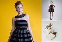 Outfit / Abiti Eleganti da Sera e per Feste importanti Cuciti a Mano con Abbinamenti accessori e Gioielli