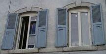 Nos réalisations : fenêtres et volets / Nos réalisations : fenêtres et volets posés par les menuiseries Arteba en neuf et en rénovation.