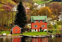 Scandinavian Countries / I want to see these places and things some day.  An absolute must would be the fjords of Norway.  You are invited and encouraged to re-pin any that you wish. / by Suzanne De Pee