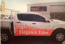 Elegance Tiles - Our Work & Who We Are / Photos from just some of our work across Victoria and some behind-the-scenes imagery from the Elegance Tiles Team!