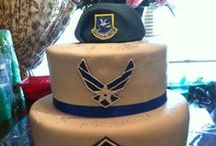 Security Forces Foodies / Security Forces Food - cakes with SF logos, MRE Hacks, etc.