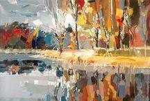 acrylic & Oil Painting