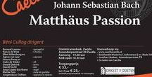 Masterclass Matthew Passion by Johanette Zomer and Beni Csillag / 6 january, 4 March + recital, 10/11 april rehearsal and concert.  Masterclass Matthäus Passion by Johanette Zomer