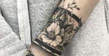 Florale Tattoos / Tattoos in Blumenform
