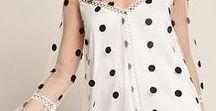 Fashion auf den Punkt gebracht / Outfits mit Polka Dots.