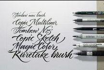 Graphisme & Typo & Calligraphie & Fonts & Print Art
