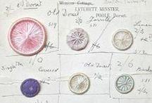 Tresors de Mercerie & Vintage sewing Items & Buttons &