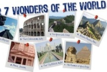 New 7 Wonders  / Chichen Itza, Christ the Redeemer, Great Wall of China, Machu Picchu, Petra, Taj Mahal & Colosseum - winners of 'the largest poll in the world'* and New 7 Wonders of the World. * The Giza Pyramid of Egypt, the only remaining Wonder of the Ancient World, was granted an honorary site.