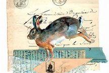 Collage papier & Book & Journaling